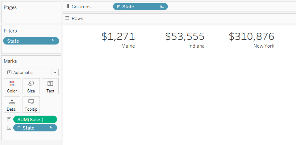 Strings And Roundabouts How To Label Your Numbers In Tableau