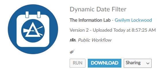 Dynamic Date Filtering in Alteryx | Vizzee Rascal